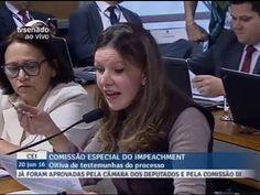 Vanessa Grazziotin JÁ ASSUME DERROTA no IMPEACHMENT de DILMA na CEI 2016...