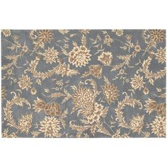 Nourison Gatsby Floral Rug, Blue Other