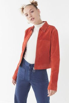 b7bfdeb8 Capulet Miller Suede Moto Jacket Retro Fashion, Fashion News, Womens  Fashion, Le Jolie