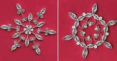 quilling snowflakes.  Use these to help me design my sun.