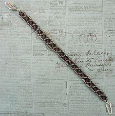 Linda's Crafty Inspirations: Bracelets of the Day - Russian Snake & Lakota Chain