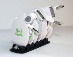 Enrollador de cables   La Guarida Geek