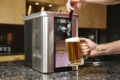 Countertop tapper. Now you can open a growler and not feel like you have to finish it right away.