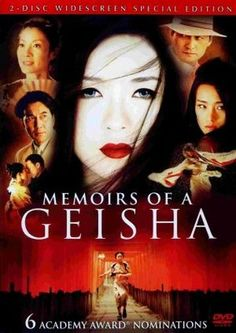 Memoirs Of A Geisha (Widescreen) on DVD from Sony Pictures Home Entertainment. Directed by Rob Marshall. Staring Ziyi Zhang, Ken Watanabe, Gong Li and Michelle Yeoh. More Historical / Period Piece, Drama and Book-To-Film DVDs available @ DVD Empire. Michelle Yeoh, Rob Marshall, Gong Li, Memoirs Of A Geisha, A Cinderella Story, Star Wars, Movie Covers, Columbia Pictures, Deep