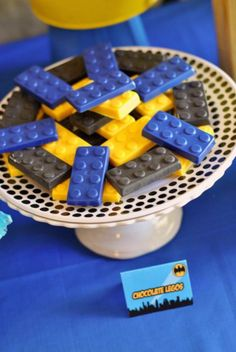 Lego Batman Birthday Party by One Swell Studio Lego Batman Birthday, Lego Batman Party, Superhero Birthday Party, 4th Birthday Parties, Birthday Fun, Birthday Ideas, Lego Banner, Batgirl Party, Kids Party Themes