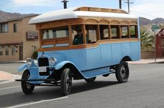 1929 Chevrolet Bus owned