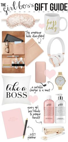 Gift Guide: for the Girl Boss