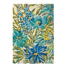 Floreale Rugs 44908 in Marine by Harlequin - Free UK Delivery - The Rug Seller