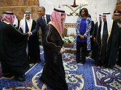Primeira-dama dos EUA cumprimentou o novo rei da Arábia Saudita, Salman bin Abdulaziz http://angorussia.com/noticias/mundo/primeira-dama-dos-eua-cumprimentou-o-novo-rei-da-arabia-saudita-salman-bin-abdulaziz/