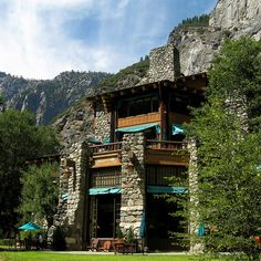 The Ahwahnee in Yosemite Valley.