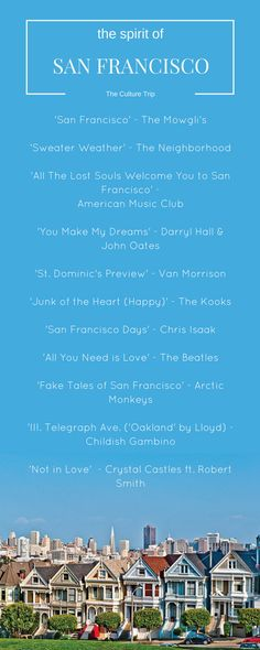 Songs That Capture The Spirit of San Francisco