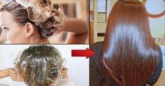 Aplique isto no seu cabelo e espere alguns minutos - os efeitos vão surpreender…
