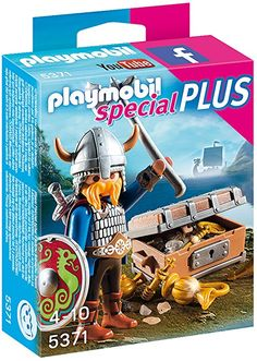 Playmobil - 5371 - Viking avec trsor