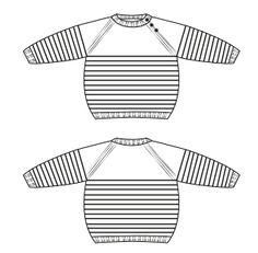 Buy Grey Stripe Jumper From - Qoster Baby Boy Sweater, Baby Vest, Baby Sweater Knitting Pattern, Baby Knitting Patterns, How To Start Knitting, Knitting For Kids, Brei Baby, Diy Crafts Knitting, Striped Stockings