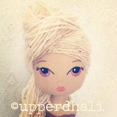 Rapunzel handmade doll Upper Dhali