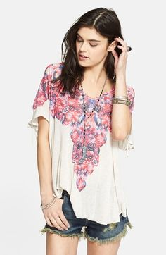 Free People Tee available at #Nordstrom
