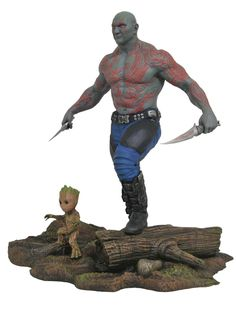 Marvel Gallery Guardians Of The Galaxy Vol. 2 PVC Figures From DST #Marvel