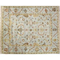 Bashian Rugs Charleston Light Blue Area Rug