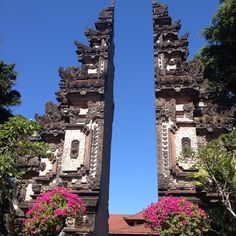 The gates - Bali - Indonesia