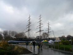 Thames Path east: The Cutty Sark