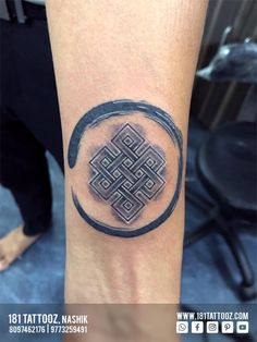 Karma tells, What goes around comes around... Karma symbol with the Zen circle makes is more meaningful. Another one of word Karma in Devnagari Calligraphy. Tell us which one you like. For more such meaningful tattoos visit @181_tattooz_studio and Get your Tattoo Customized For more details visit our website www.181tattooz.com.  Or contact us on 8097462176 / 9773259491 Karma Tattoo Symbol, Symbol Tattoos, New Tattoos, Tattoos For Guys, Tatoos, Wrist Band Tattoo, Hindu Tattoos, Surf Tattoo, Permanent Tattoo