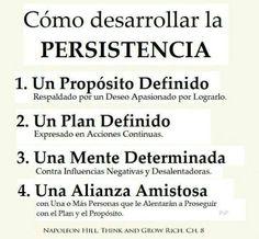 La consistencia es estar presente todos los días. Pero la persistencia, es estar presente todos los días sin importar lo que suceda.
