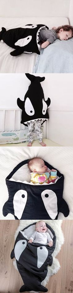 shark sleeping bag for baby's and kids