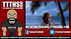 The Tommy Toe Hold Show: Episode 62 - SILVA PULLS A NICK DIAZ!?!?!? #TTTHS #McDojo www.Facebook.com/McDojoLife