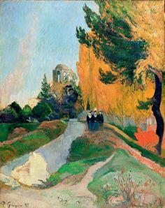 Les alyscamps - Paul Gauguin