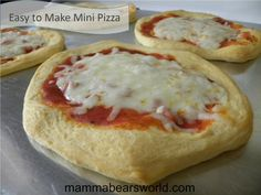 Biscuit Pizza: an Easy, Kid-friendly Meal