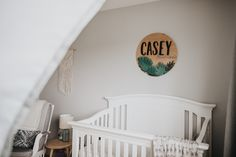 Custom baby name sign with a modern jungle theme Jungle Nursery, Jungle Theme, Baby Name Signs, Baby Names, Farmhouse Style, Baby Shower, Modern, Collection, Design