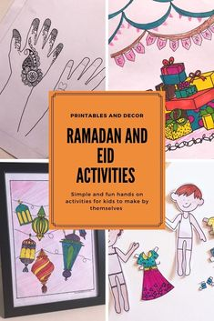 Ramadan Activities, Color Activities, Hands On Activities, Eid Envelopes, Embroidery On Clothes, Quilt Festival, Create And Craft, Crewel Embroidery, Clothes Crafts