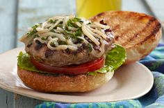 Italian Sausage Burgers Recipe ~ #kraftrecipes