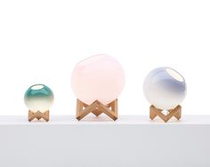 MCE lamps by PER/USE, on sightunseen.com