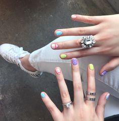 Spring nails @onnu_nail