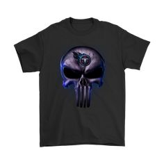 NFL - The Punisher Skull Tennessee Titans Football NFL Shirts 145d6b213