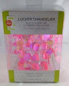 Wall Pops Wpc1227 Pink Locker Chandelier, ,