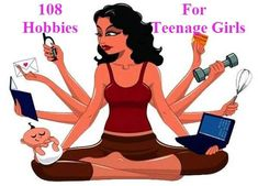 Best 108 hobbies for teenage girls as your need. Today I will share 108 hobbies for teenage girls that might you need. Hobbies for girls. Hobbies For Girls, Easy Hobbies, Hobbies To Take Up, Hobbies That Make Money, Great Hobbies, New Things To Learn, Hobbies And Crafts, Hobby Room, Hobby Lobby