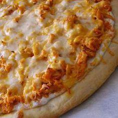 Пицца Баффало с курицей (Buffalo Style Chicken Pizza)
