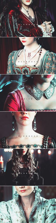 king henry viii / to six wives he was wedded. one died, one survived / two divorced, two beheaded. #tudors