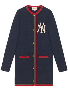 3a80ce2e685 Gucci Cardigan With NY Yankees™ Patch - Farfetch