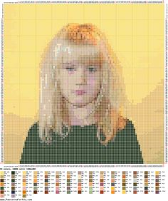 Free pattern maker: Cross stitch picture or photo based patterns!