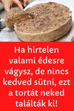 Hungarian Desserts, Hungarian Recipes, No Cook Meals, Food Porn, Dessert Recipes, Food And Drink, Cooking Recipes, Sweets, Cookies