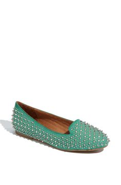 Jeffrey Campbell 'Martini' Flat.. comes in 4 different colors... oooooh i want these. maybe one day they will get marked down. $174.95