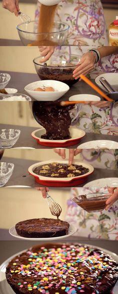 Programa 8 de Cupcake Maniacs: Brownie con glaseado de chocolate Cupcakes, Cupcake Cakes, Brownies, Delicious Desserts, Yummy Food, Brownie Recipes, Sweet Recipes, Bakery, Deserts
