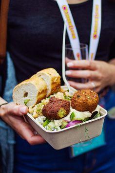 healthy street food Camden lock live london festival