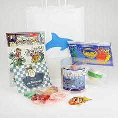 Mitbringsel-Geschenktüte - Meer.  Eine Geschenktüte gefüllt mit tollen Mitbringseln für kleine Fans der weiten Unterwasserwelt.