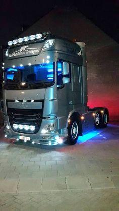 DAF Custom Big Rigs, Custom Trucks, Custom Cars, Train Truck, Road Train, Show Trucks, Big Rig Trucks, Diesel, Cab Over