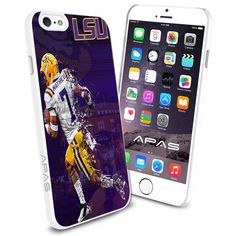 Louisiana State University (LSU) NCAA Silicone Skin Case Rubber Iphone 6 Case Cover WorldPhoneCase http://www.amazon.com/dp/B00YCLAY04/ref=cm_sw_r_pi_dp_TKEBvb08M6H52