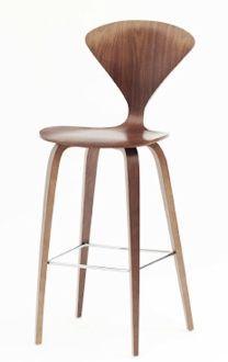 Fine Mod Imports Normen Chair Modern Wooden Counter Chair Wooden